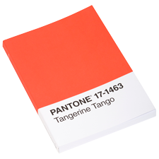Colore 2012 Pantone Tangerine Tango