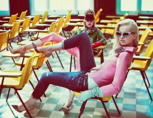 Daphne Groeneveld e Frida Aasen, Dsquared