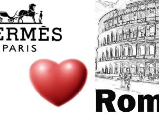 Hermes, nuovo negozio Roma - Hermès Roma