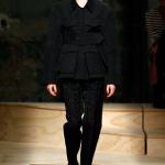 Giacca e pantalone neri