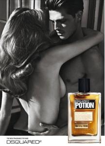 Profumo Dsquared Potion, modello Diego Miguel