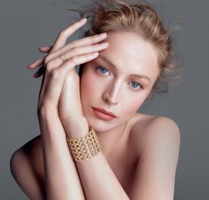Modella Raquel Zimmermann, Dior