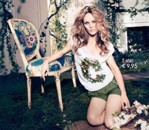 Vanessa Paradis, collezione H&M Conscious 2013