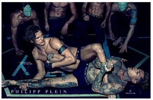 Campagna intimo Philipp Plein