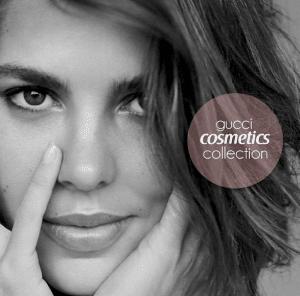 Charlotte Casiraghi per Gucci cosmetics collection