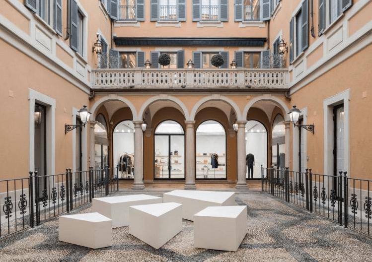 Negozio Marni in via Montenapoleone 12 a Milano