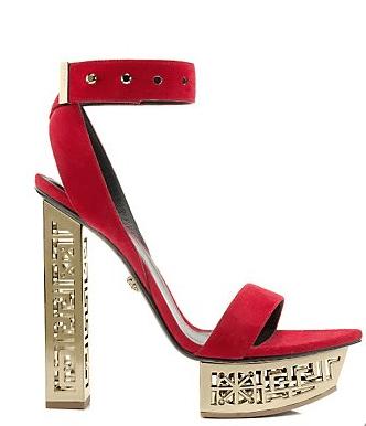 Greek Sandal Versace Holiday gifts 2015
