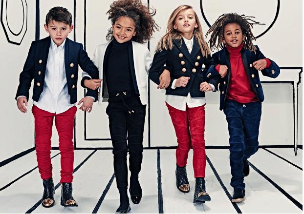 Collezione Balmain Kids 2016