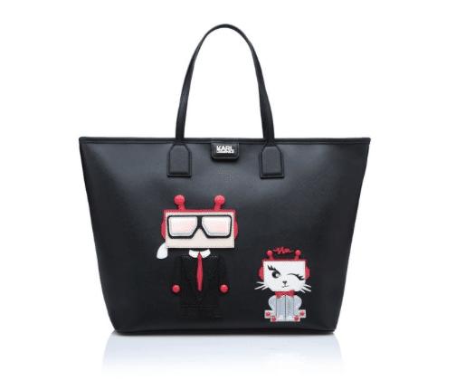 Borsa Karl Robot 2016 con gatto Choupette