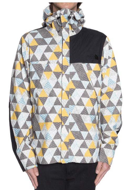 The North Face M 1990 Paclite Mountain Jacket Vaporous Grey Glacier Print