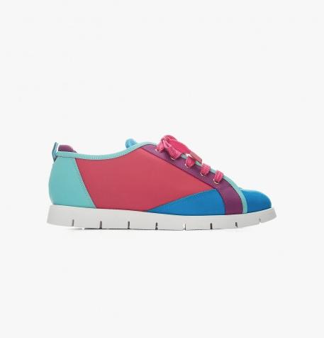 Sneaker in pelle multicolor Thana Ballin 2016