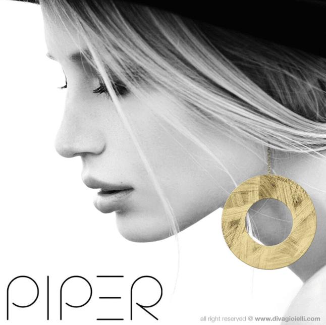 Collezione Piper 2016 gioielli Diva