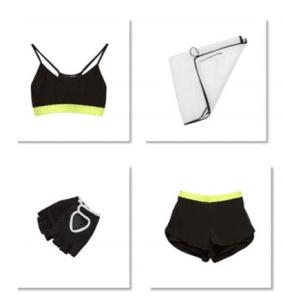 Collezione Zara Sport donna