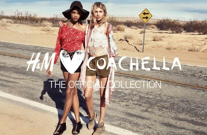 H&M loves Coachella ADV