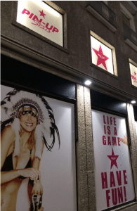 Temporary Store Pin Up Stars Milano