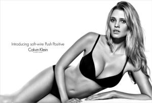 Lara Stone, Push Positive Calvin Klein