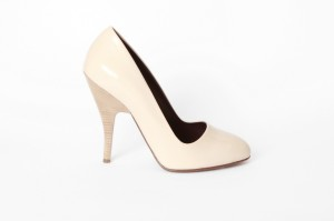 Cori Amenta: scarpa decolleté beige