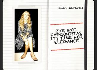 Franca Sozzani - Bye Bye Fashionistas