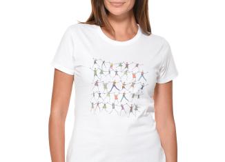 Ilaria Spada: tshirt Unicef Missoni