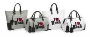 Borsa Trussardi I LOVE Roma