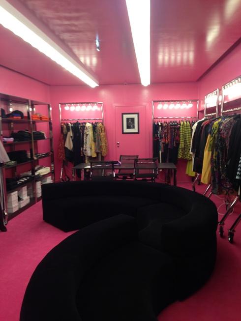 Interno negozio Piave 37 Milano
